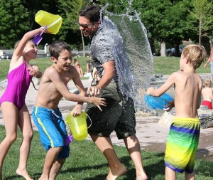 water fight in centereach, ny